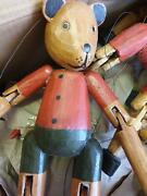 Marionettes Wooden New 30-35cm Tall Collectors Vintage New Stock