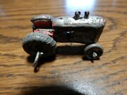 Rare Antique Cast Iron Toy Tractor 1 1/2 Long