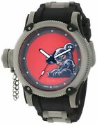 New Mens 11152 Russian Diver Red Artist Series Dial Polyurethane Watch