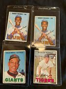 1967 Topps Lot Including Mays--goes To First Good Offer