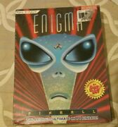 Enigma Pinball New Sealed Rare Vintage 3.5andrdquo Disk Dos Pc Version Video Game