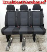 Sprinter Van 2014 Removable Quick Release 3 Person Bench Seat Cargo Oem
