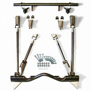 Trianglated Rear 4-link Suspension Kit 1963-66 Chevy C10 Coilover Not Included