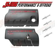 Oem Ls2 Gm Corvette Engine Covers Fuel Rail Ls-2 6.0l Left Right With Hardware