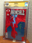 Invincible 11 9.8 Cgc Ss Nm/mt Signed By Ryan Ottley 2004 Image Robert Kirkman