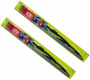 Dupont Traditional Wiper Blades Pair 13 For Nissan Juke Micra Note Tiida