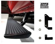 Amp Electric Running Boards W/ Air Tank Relocation Kit For 14-18 Ram 2500 3500