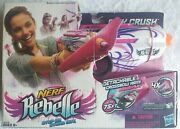 Discontinued Rare Nerf Rebelle Pink Crush Blaster Exclusive
