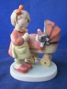 Hummel 67 Doll Mother Tmk5 4 Tall With Card Excellent