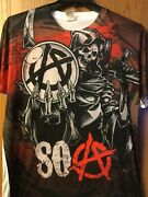 Sons Of Anarchy.   Shirt.  White. Xl