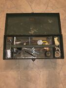 Vintage Kennedy Kit K-20 Metal Industrial Machinist Toolbox Chest Tray Machinist