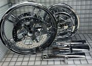 Harley Enforcer Wheels Chrome 2014-19 Road King Street Glide Touring Outright