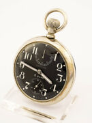 Longines Pocket Watch With 8 Days Movement And Power Reserve Military
