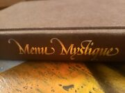 Menu Mystique Dinerand039s Guide To Fine Food And Drink By Morman Odya Krohn 1983