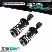 Pair Front Strut And Coil Spring For 1999-2004 2005 Chevy Cavalier Pontiac Sunfire