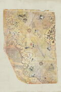 103879 Piri Reis 1513 Historical World Map Decor Laminated Poster Us