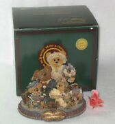 Boyds Bearstones - From Our Home To Yours - 1999 Limited Edition - Nib Free Ship