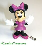 Cute Minnie Mouse Disney Ceiling Fan Chain Light Switch Pull New