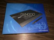 New Wacom Bamboo Cth-460 Graphics Drawing Tablet W/ Pen