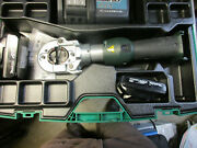 Greenlee 18v Battery Hydraulic Dieless Crimper Ek622l Used 2 Batterys And Charger