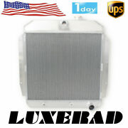 3 Rows Aluminum Radiator For 1955-1959 Chevy Truck 3a / 3b / Pickup Gmc 100 150