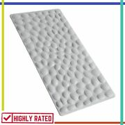Bathtub Mat Non-slip Soft Rubber Bathroom Bathmat With Strong Suction Cup Othway