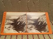Tahoe Region Sv - Rr Donner- Watkins 1870s Stereoview Look More Cprr Lake View