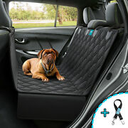 Dog Seat Cover Hammock For Back Seat Durable Waterproof Car Truck Suv Seatbelt