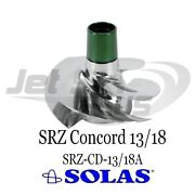Solas Concord Srz Series Seadoo 2009-up Rxp Rxt Gtx 215 Hp Impeller 13-18 Pitch
