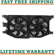 Condenser Fan For 98-03 Mercedes-benz Fits Ml320 3.2l V6 Free Shipping
