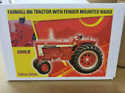 Jle Scale Models International Farmall 806 Collectors Edition 1/16th