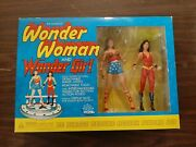 Collectible Wonder Woman Wondergirl Silver Age Action Figure Set New Never Open