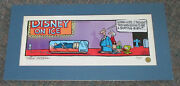 Mike Peters Grimmy Disney On Ice Handpainted Limited Edition Cel 1994 Coa