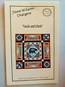 New Quilt Pattern Wall Hanging Lewis And Clark Fusible Applique Wall Table Topper