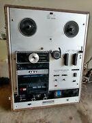 Vintage Akai Cross-field X2000sd Integrated Circuit Reel To Reel Recorder For P