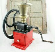 Antique Kissing And Mandoumlllmann Coffee Grinder Mill Cast-iron Moulin Molinillo Cafe