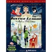 Justice League The New Frontier W/figure Dvd 2-disc Set