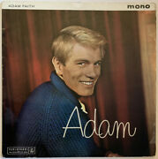 Adam Faith Adam Lp John Barry Parlophone Uk 1960 Black Gold Mono Pro Cleaned