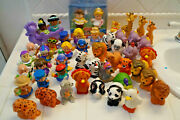 Lot Of 48 Fisher Price Little People Disney Princess Noahand039s Ark Animals People
