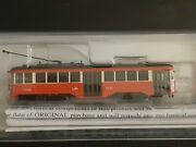 N Scale Dcc Bachmann Peter Witt Streetcar With Lights St.louis Railways