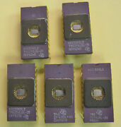 5 Vintage Texas Instruments Tms2516jdl Cpu Eprom Ceramic Ic Gold Pins Nos 5p925
