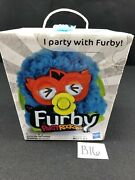 Hasbro Furby Party Rockers Creature Interactive Toy Twittby Blue Horns 6+