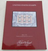 United States Stamps Robert Siegel 2017 Auction Catalog