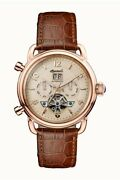 Ingersoll New England Automatic Leather Strap Watch - 44mm - Leather Wristwatch