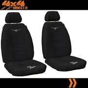 1 Row Custom Rm Williams Jacquard Seat Covers For Land Rover Defender 93-02