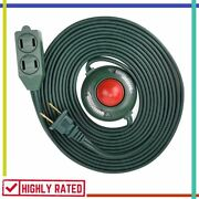 Extension Cord With Hand Foot Switch Heavy Duty Electrical Power Outlet Electes