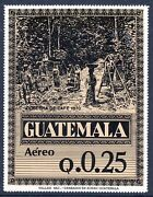 Guatemala 1984 Coffee Issue Q.0.25 Jumbo Stamp Mnh. See Note After Scott C789