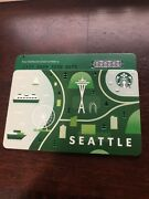 Seattle Starbucks Coffee Gift Card Limited New 2020 Rare Special I Card