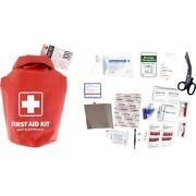 First Aid Kit In Waterproof Red Dry Sack - 100 Piece