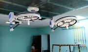 Examination Ot Light Double Dome Ceiling Lamp Operation Theater Led Light New